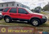 Classic 2002 Ford Escape Wagon Red Automatic  for Sale