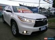 2014 Toyota Kluger GSU55R GX (4x4) Crystal Pearl Automatic 6sp A Wagon for Sale