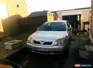 2003 VAUXHALL VECTRA LS DTI 16V SILVER SPARES OR REPAIR for Sale