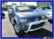 2009 Mitsubishi Triton ML MY09 GLX-R (4x4) Grey Manual 5sp M Double Cab Utility for Sale