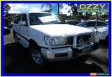 Classic 1998 Toyota Landcruiser FZJ105R GXL (4x4) White Automatic 4sp A Wagon for Sale