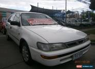 1999 Toyota Corolla AE101R CSi Seca White Automatic 4sp A Liftback for Sale