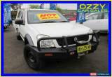Classic 2003 Holden Rodeo RA LX (4x4) White Manual 5sp M Spacecab for Sale