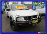 2003 Holden Rodeo RA LX (4x4) White Manual 5sp M Spacecab for Sale