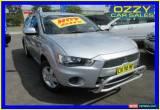 Classic 2012 Mitsubishi Outlander ZH MY12 LS Silver Manual 5sp M Wagon for Sale