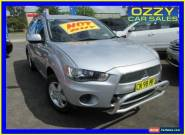 2012 Mitsubishi Outlander ZH MY12 LS Silver Manual 5sp M Wagon for Sale