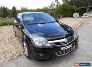 2007.5 Holden Astra Coupe SRI. Very Low Kms for Sale