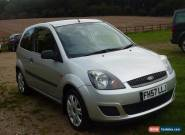 2008 FORD FIESTA 1.4 TD STYLE CLIMATE IN FANTASTIC CONDITION, FSH & LOW MILEAGE for Sale