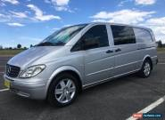 Mercedes Benz Vito 120 V6 Turbo Diesel Auto extra long wheelbase   for Sale