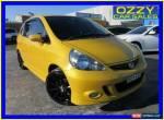 2007 Honda Jazz MY06 GLi Yellow Manual 5sp M Hatchback for Sale