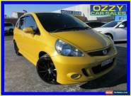 2007 Honda Jazz MY06 GLi Yellow Manual 5sp M Hatchback for Sale
