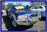 Classic 2006 Nissan Navara D22 ST-R (4x4) Blue Manual 5sp M Dual Cab Pick-up for Sale