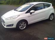FORD FIESTA ZETEC White Manual Petrol, 2015  for Sale