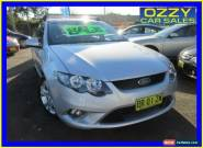 2010 Ford Falcon FG XR6 Silver Automatic 5sp A Sedan for Sale