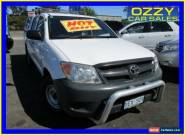 2007 Toyota Hilux TGN16R 06 Upgrade Workmate White Manual 5sp M for Sale
