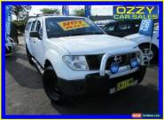 2007 Nissan Navara D40 RX (4x4) White Automatic 5sp A for Sale