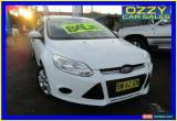 Classic 2011 Ford Focus LW Ambiente White Automatic 6sp A Hatchback for Sale