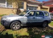 2006 Subaru Forester AWD Wagon - MANUAL for Sale