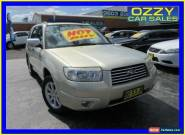 2006 Subaru Forester MY06 X Luxury Gold Automatic 4sp A Wagon for Sale