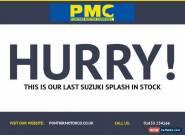 2010 60 SUZUKI SPLASH 1.0 GLS 5D 65 BHP for Sale