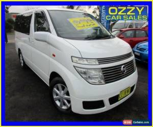 Classic 2003 Nissan Elgrand E50 White Automatic 4sp A Wagon for Sale