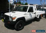 2007 Toyota Landcruiser VDJ79R GX (4x4) White Manual 5sp M Cab Chassis for Sale