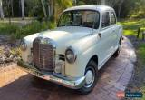 Classic Mercedes-Benz 190 ponton  1959 restored  for Sale