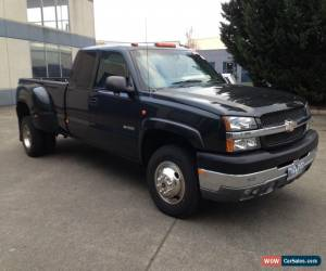 Classic 2003 Chevrolet Silverado 3500 Dually Extended Cab Truck, Vortec 8100 Petrol for Sale
