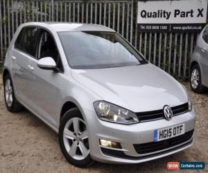 Classic 2015 Volkswagen Golf 2.0 TDI BlueMotion Tech Match Hatchback DSG 5dr for Sale