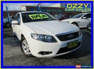 2008 Ford Falcon FG XT (LPG) White Automatic 4sp A Sedan for Sale