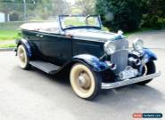 1932 Ford Deluxe Sports Phaeton for Sale