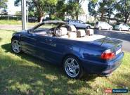 BMW 325Ci convertible for Sale