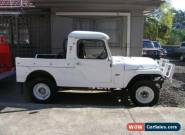 1957 Willys Jeep True White Utility for Sale