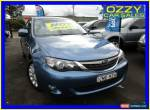 2008 Subaru Impreza MY09 RS (AWD) Blue Manual 5sp M Hatchback for Sale