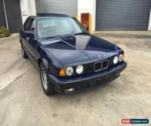 Classic BMW E34 535i 1989 5 speed manual for Sale