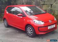 VOLKSWAGEN UP MOVE UP Red Manual Petrol, 2014  for Sale