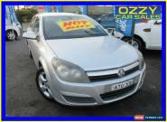 2005 Holden Astra AH MY06 CDX Silver Automatic 4sp A Hatchback for Sale