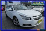 Classic 2010 Holden Cruze JG CDX White Manual 5sp M Sedan for Sale