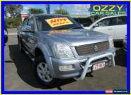 2006 Holden Rodeo RA MY06 Upgrade LT Blue Automatic 4sp A Crew Cab P/Up for Sale