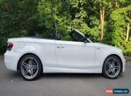 BMW 1 SERIES -118i SPORTS PLUS EDITION 2012 Petrol Manual in White for Sale