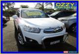 Classic 2011 Holden Captiva CG Series II 7 CX (4x4) White Automatic 6sp A Wagon for Sale