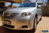 Classic Toyota Camry Altise 2007 - Well Looked After, low KMs, New Tyres for Sale