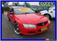 2006 Holden Crewman VZ MY06 Red Automatic 4sp A Crew Cab Utility for Sale