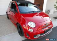 FIAT ABARTH 500 2015 COMPETIZIONE TRIBUTO FERRARI SPEC UPGRADE AS NEW THROUGHOUT for Sale