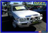 Classic 2005 Mazda B2500 MY05 Upgrade Bravo DX (4x4) Silver Manual 5sp M Cab Chassis for Sale