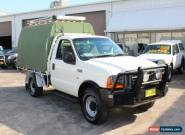 2002 Ford F250 XL White Manual 5sp M Cab Chassis for Sale