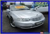 Classic 2002 Holden Statesman Whii International Silver Automatic 4sp A Sedan for Sale