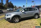 Classic 2014 Holden Captiva CG 7 Silver Automatic A Wagon for Sale