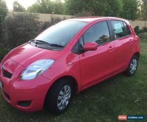 Classic 2010 Toyota Yaris Pink manual for Sale