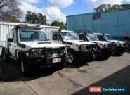 2012 Toyota Landcruiser VDJ79R 09 Upgrade GXL (4x4) White Manual 5sp M for Sale